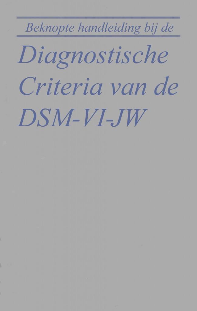 DSM IV copy JW 2016